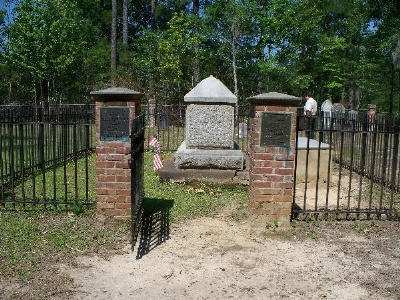 Grave of Francis Marion - the Swamp Fox - an American revolutionary war hero
