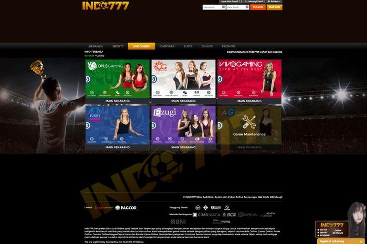 Bermain judi lewat Situs Judi Online Resmi di Indonesia sudah menjadi pilihan utama para bettor untuk bermain judi. Situs Poker Uang Asli, Situs Judi Resmi Indonesia, Agen Judi Online Resmi, Judi Online Modal 10 Ribu, Agen Judi Terlengkap, Situs Judi Online Terlengkap, Situs Judi Online Termurah, Agen Judi Deposit 10 Ribu