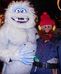 Abominable Snowman and Yukon Cornelius Costume - 2012 Halloween Costume Contest