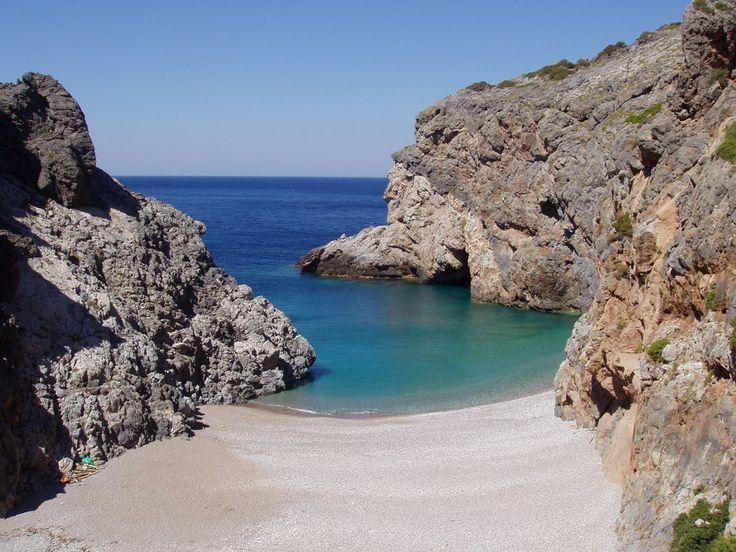 Παραλία Καλάμι: Παραλία... για λίγους...Κύθηρα!