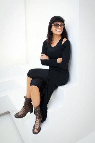 Designer Norma Kamali: 66 And Hotter Than Ever!  Of course, I was never this hot but maybe there's still hope.