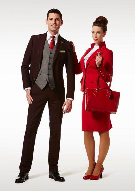 Vivienne Westwood launches Virgin Atlantic uniforms