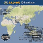 #SGP Ep 11 looking at Manchester United on Twitter with A-League All-Star Trendsmap