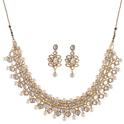 Ethnic Indian Bollywood Gold Plated White Pearls Kundan P... https://www.amazon.com/dp/B06Y5QZ1VR/ref=cm_sw_r_pi_dp_x_Huqtzb5Z2328V