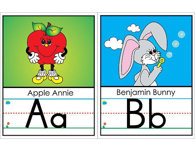 Poster Pals: Alphabet