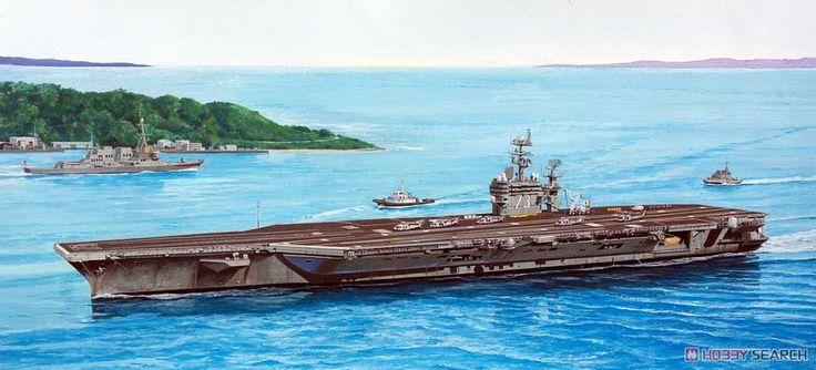 [閉じる] 米海軍 空母 CVN-73 ジョージ・ワシントン 2008 (プラモデル) その他の画像1