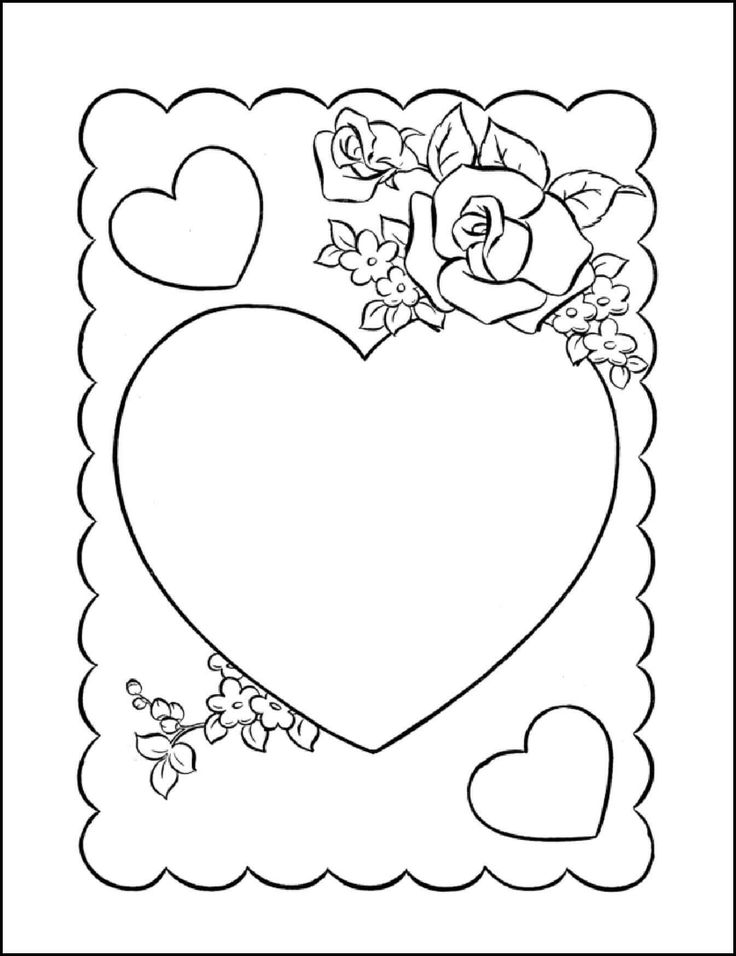 Как нарисовать красивую открытку для бабушки на день рождения