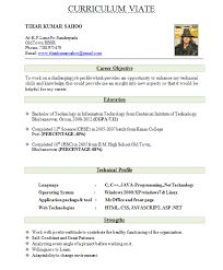 how to write a resume for a fresher fresher teachers resume sample