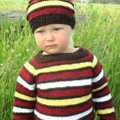 Little Michael's Sweater - via @Craftsy