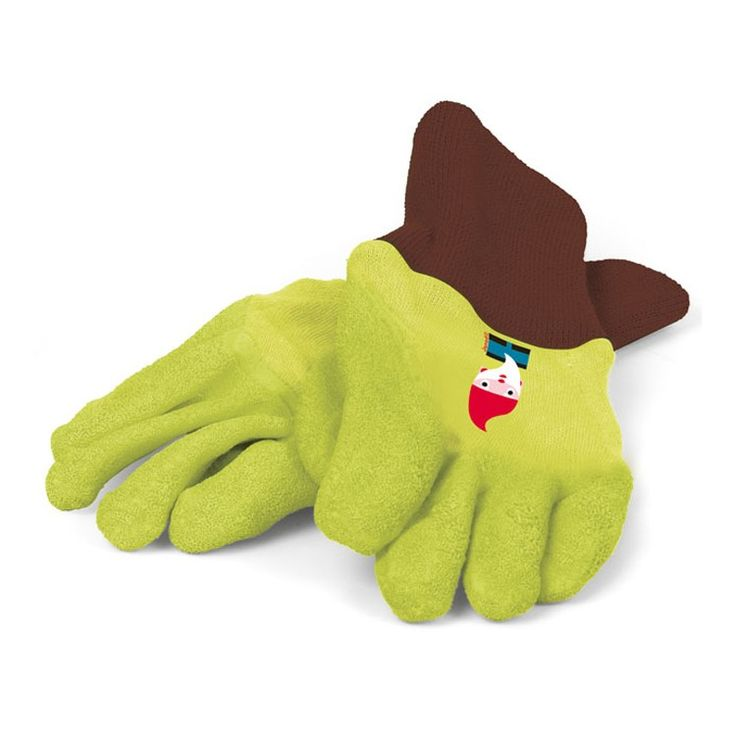 This pair of gardening gloves will let your little helper to enjoy doing the outside work! Manufactured by Janod. Recommended for 3 years, 4 years, 5 years, 6 years, 7 years.