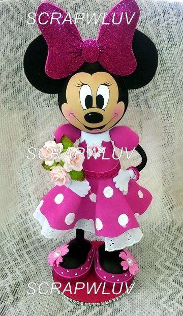 Minnie Mouse Fofucha Doll