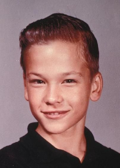 Patrick Swayze as a child.    Gone but not forgotten.  You could see then how handsome he was going to be.