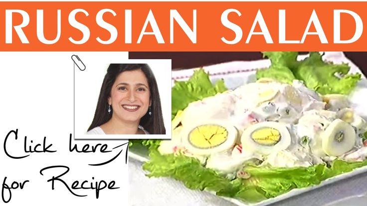 Food Diaries Russian Salad Recipe by zarnak sidhwa Masala TV  May 02,2015