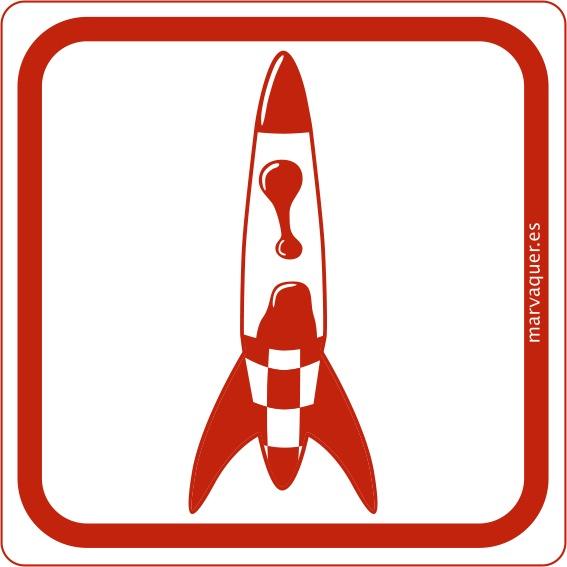 Mar Vaquer  #threefivefifty #05 #sticker #3550 #design #red