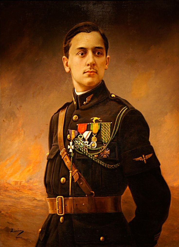 Georges Guynemer (24 December 1894 – 11 September 1917 missing) was a top fighter ace for France during World War I, and a French national hero at the time of his death.