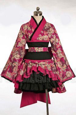 Tumblr - Wa Lolita style Kimono.