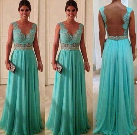 Blue sleeveless long party dress fashion   Fashion World