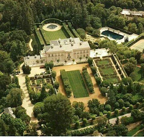 750 Bel Air Rd Bel Air Los Angeles California Home Of The Clampetts Kirkeby Estate Bel Air