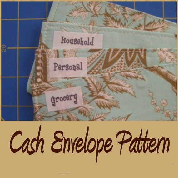 cash envelope wallet pattern $5 @Jeanie Burton @Patricia Peterson