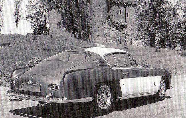 Abarth Alfa 2000, dessin de Mario Felice Boano, pour Ghia, 1954
