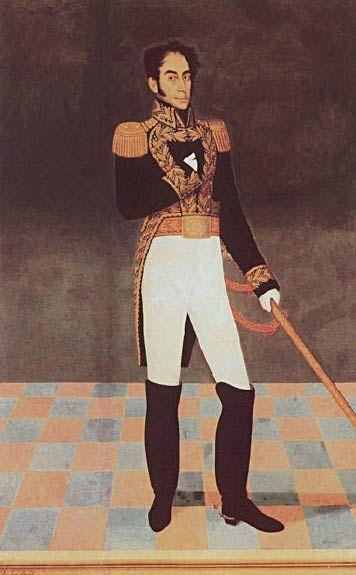 Gil de Castro's Portrait of Simón Bolívar -He's a damned elusive artist, to be sure