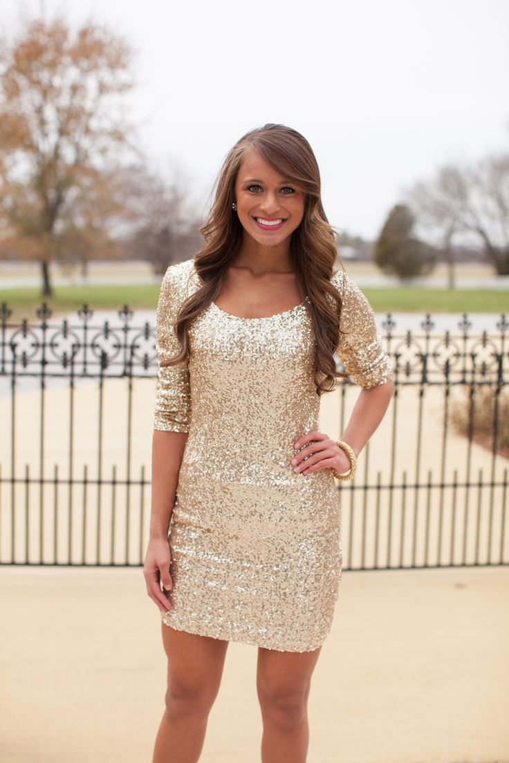 Gold Sequins Prom Dress,Sexy Prom Dresses,Short Prom Dress,Prom