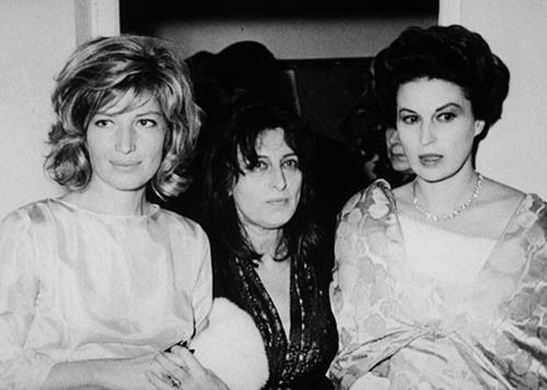 Monica Vitti,Anna Magnani,Silvana Mangano