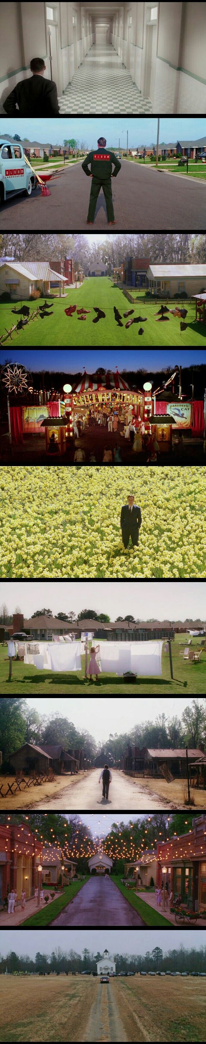 Production Design + Cinematography. Big Fish(2003) Director: Tim Burton.