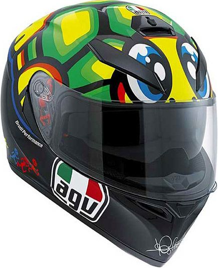 It's back!! The AGV K3 SV Rossi Turtle Tartaruga Tortuga