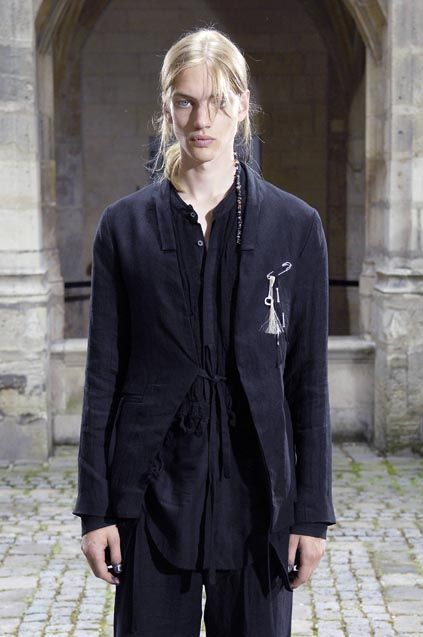 Paul Boche in the debut collection, DAMIR DOMA Men's Spring Summer 2008