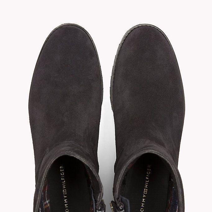 TOMMY HILFIGER Suede Ankle Boot - MAGNET - TOMMY HILFIGER Shoes - detail image 3