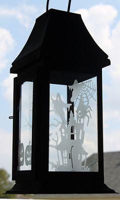 Life in the Craft Lane: Halloween Lantern
