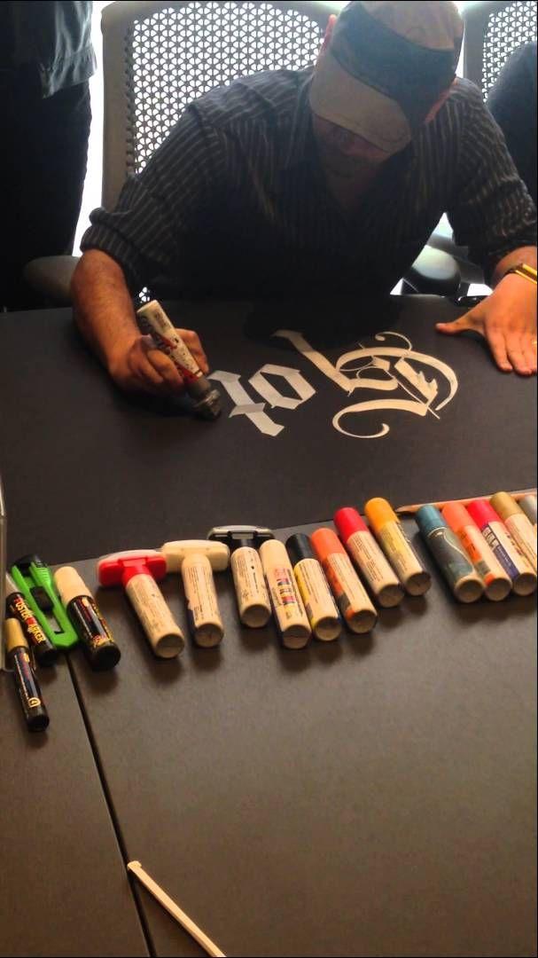 Caligrafia el caligrafo - calligraphy - letra gotica