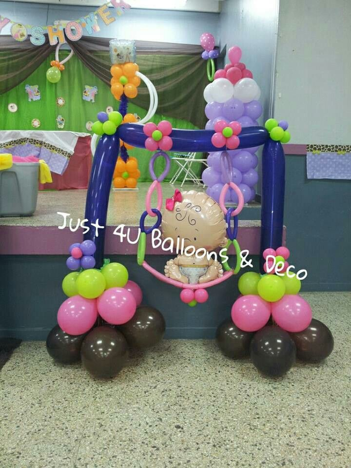 Baby shower#balloons#decoration by me