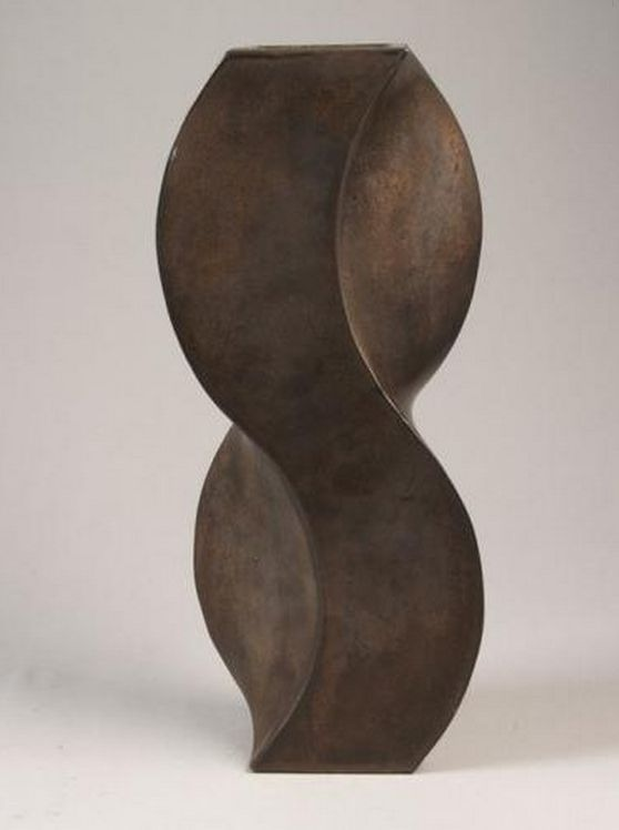 Jan van der Vaart - Vaas in S-vorm, brons, 1975 - Jan van der Vaart - Wikipedia