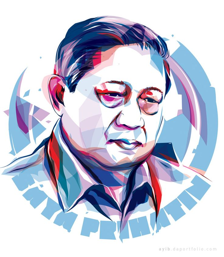 """Saya Prihatin"" means ""I am concerned""    an illustration depicting Susilo Bambang Yudhoyono, Indonesia's current president (2012) who was concerned about the state of Indonesia.    sebuah ilustrasi yang menggambarkan Susilo Bambang yudhoyono, presiden Indonesia saat ini (2012) yang sedang prihatin dengan keadaan Indonesia."