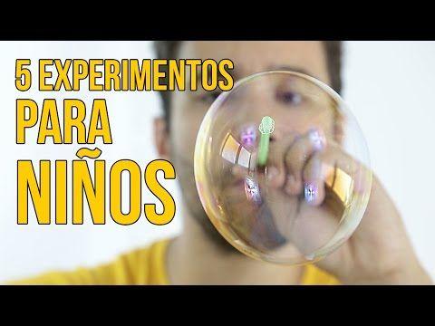 5 EXPERIMENTOS CON AGUA PARA NIÑOS (Recopilación) - YouTube
