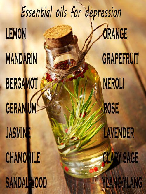 Essential oils for depression | DIY home remedies