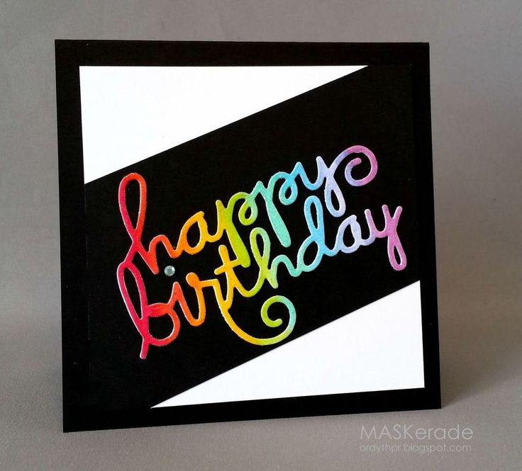 *New release* Paper Smooches HAPPY BIRTHDAY WORDS thin metal die #PaperSmooches