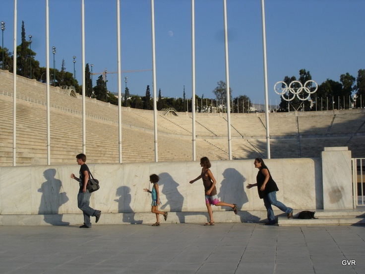 "Kalimarmaro Stadium - Athens' Old Olympic Stadium, named for the the ""beautiful marble"" seating - Used today as the finish line for the Athens Marathon, for concerts and open to the public daily - your 2e admission includes an audio tour which takes you beneath the Stadium where you'll learn about the previous ancient stadium which once stood on the same site."