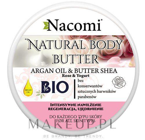 Masło do ciała o zapachu róży z masłem shea - Nacomi Natural Body Butter Avocado Oil&Shea Butter kupuj online bez kosztów dostawy | Cena i opinie na MakeUp.pl