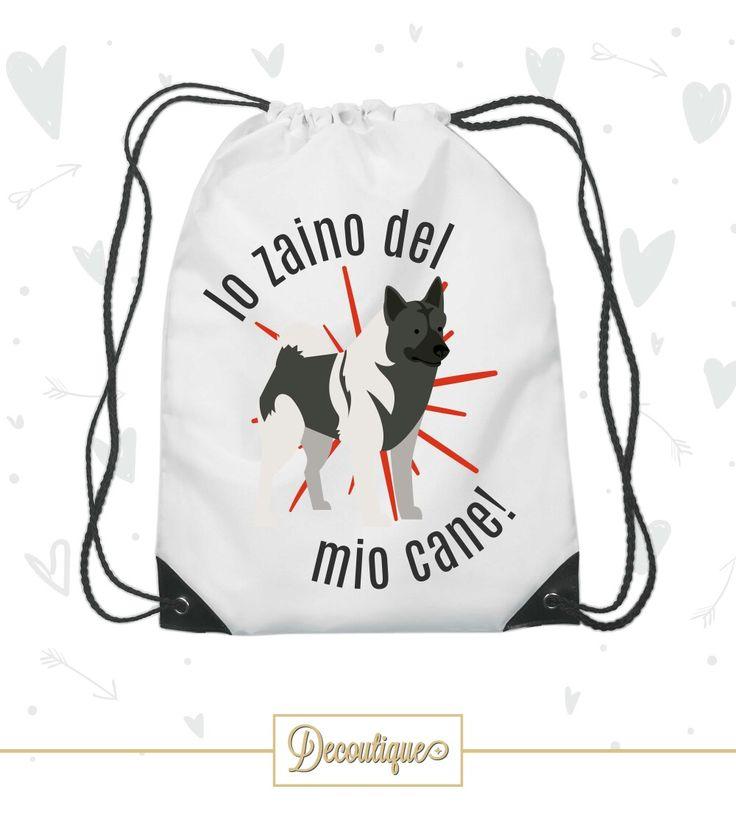 SACCA PORTAOGGETTI AKITA AMERICANO  #london #dog #animali #puppy #nature #cane #ilmiglioreamico #canidirazza #natura #idearegalo #akitaamericano #sacca #zainetto #enci #USA #pembrokeshire #bestdog #razzacanina #canedellaregina #diy #handmade  Codice: SCC016 Prezzo: 7,00 € Spedizione in Italia: 6,00 €  Per prenotare la tua Sacca contattaci in privato o all'indirizzo email info@decoutique.it Personalizza la tua Sacca con lo stile più adatto a te. Affidati a noi per la tua proposta grafica!