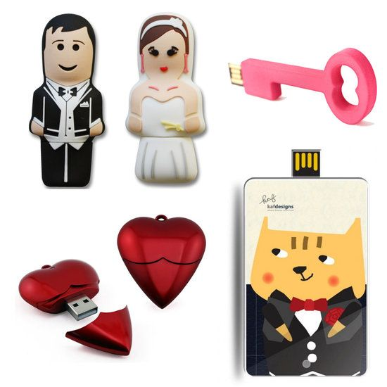 USB Flash Drive For Wedding Favors