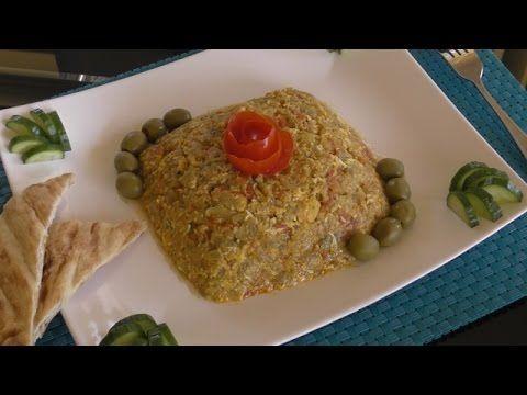 Mirza Ghassemi (Iranian appetizer) - YouTube
