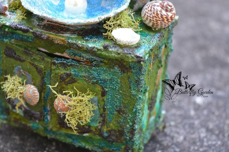 Hi All, I'm here with you today to share with you my latest mixed media miniature using some new Plaid-craft products that I am totally in...