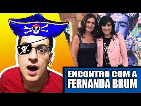 FERNANDA BRUM NO PROGRAMA ENCONTRO - O CASO DE MENTALISTA - YouTube