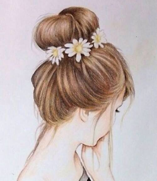 Pleasant 1000 Images About Drawings On Pinterest Drawing Hair Draw Hair Short Hairstyles Gunalazisus