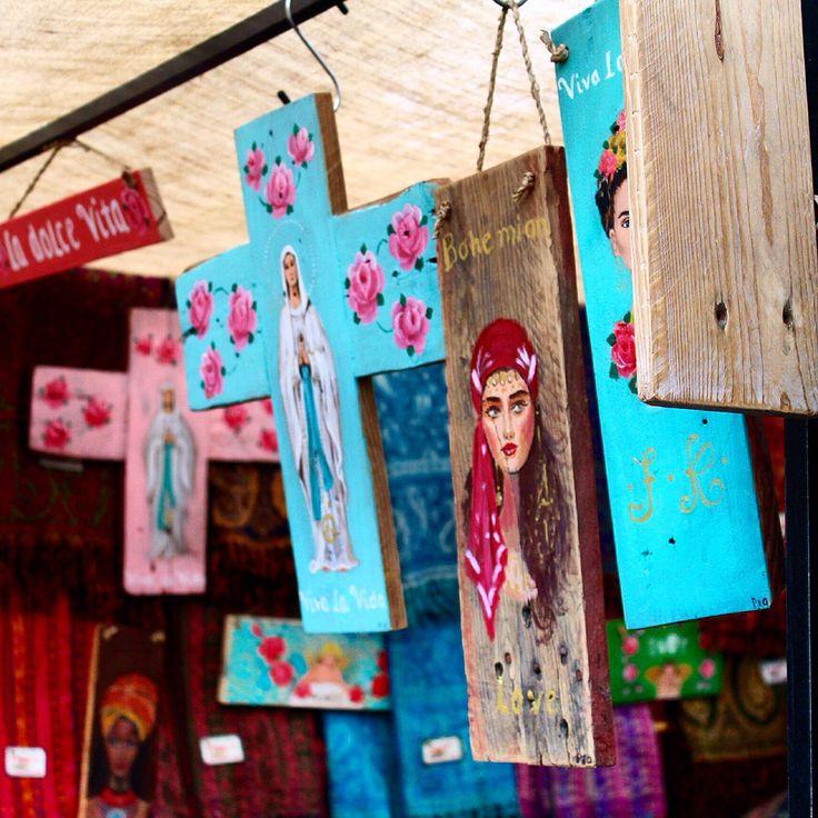 Bohemian. Ibiza hippie market. Made by CMS