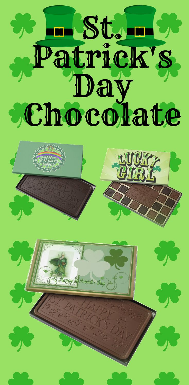 St Patrick's Day Chocolates gift