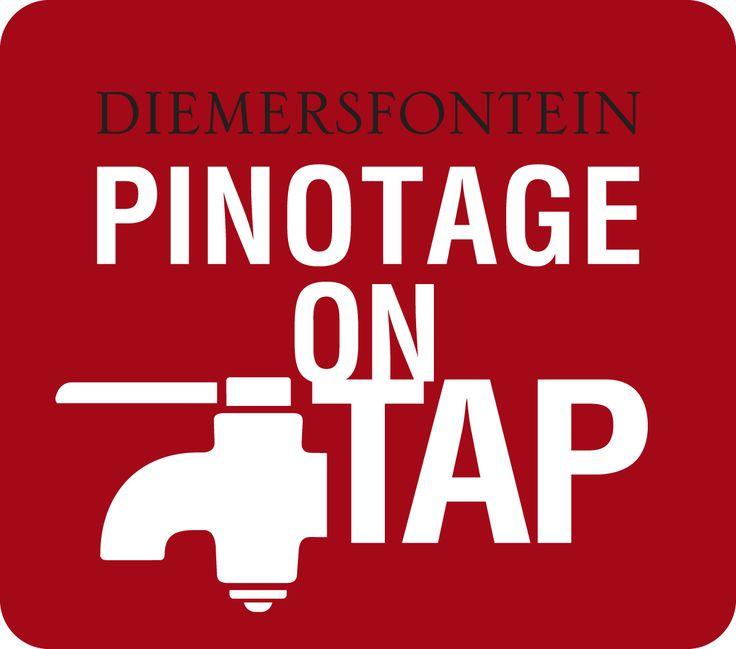 Pinotage on Tap at Diemersfontein Wine Estate